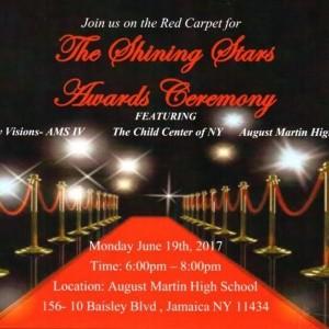 The shining stars award ceremony