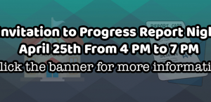 Progress Report Card Night #3