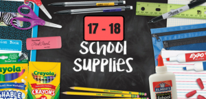 School Supply List 2017-2018