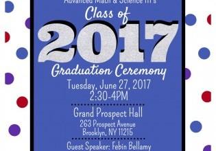 AMS III 2017 Graduation