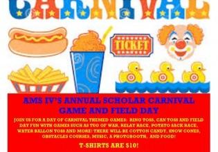 AMS IV Carnival on June 24th
