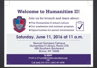 HUM II New Student & Family Orientation