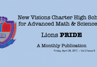 LIONS P.R.I.D.E NEWSLETTER April 28th VOL.2-8