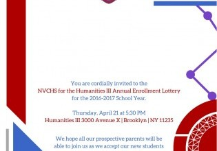 NVCHS for Humanities III Annual Enrollment Lottery