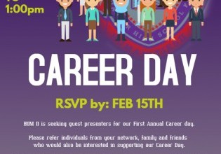 Career Day-Coming Soon!!!