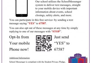 Opt-In to Receive Messages Today!