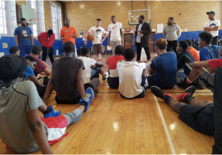 """Family on Three"" Hosts Basketball Clinic"