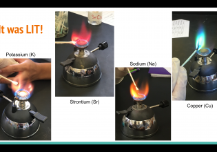 Chemistry Kids: Burning Solutions Lab Is a Hit!