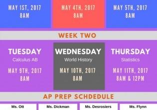 AP Prep Week
