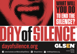 National Day of Silence - 4/22/18