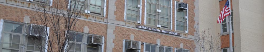 Alfred E. Smith CTE High School banner