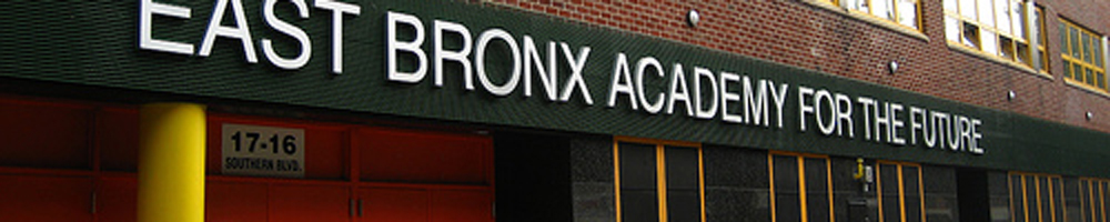 East Bronx Academy for the Future banner